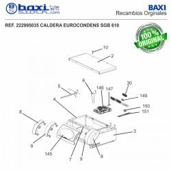 BASE CUERPO SGB 470-610 E