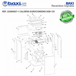 PANEL SUPERIOR INTERMEDIO SGB 125-170 H